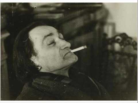 ANTONIN ARTAUD - LA CONFERENCE DU 13/01/1947 sur la scène du Vieux Colombier