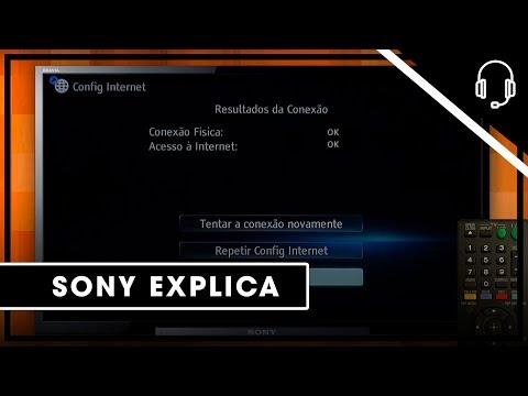Sony | Suporte| Bravia Theatre | Blu-Ray  Como se conectar a internet (Conexão com fio)
