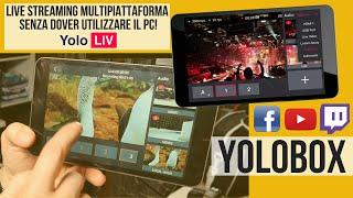 Yolobox Studio portatile per Live stream multipiattaforma Video