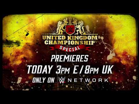 WWE United Kingdom Championship Special premieres today