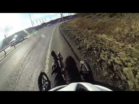 52 km trike trip near Jyväskylä, Finland