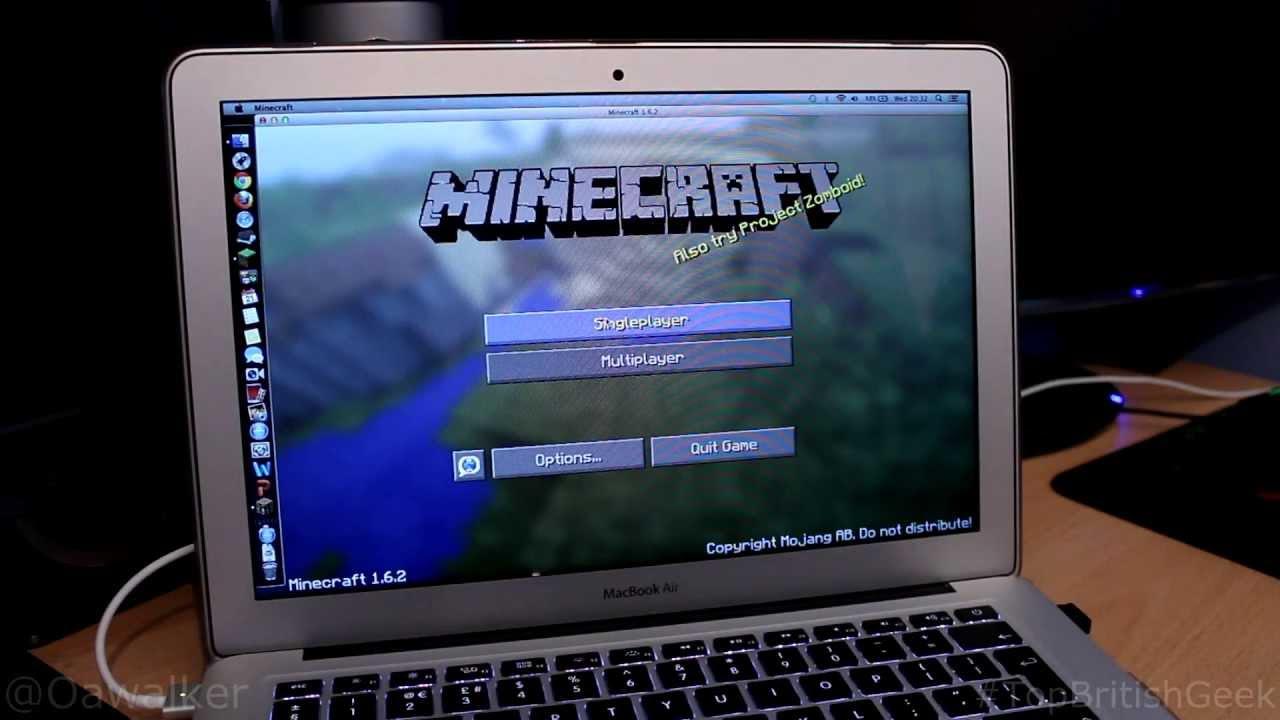 minecraft download macbook air free