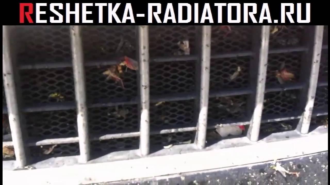 Решётка радиатора на Ланос тюнинг - YouTube