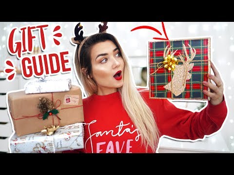 HUGE LAST MINUTE CHRISTMAS GIFT GUIDE 2017! CHRISTMAS PRESENT IDEAS!