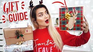 HUGE LAST MINUTE CHRISTMAS GIFT GUIDE 2017! CHRISTMAS PRESENT IDEAS!