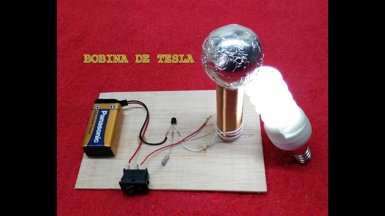 Como hacer una bobina de tesla casera youtube - Como hacer una claraboya ...
