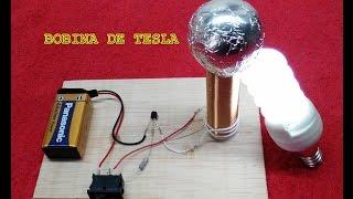Como hacer una bobina de Tesla casera