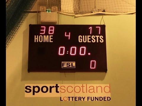 BA Basketball - Scottish Cup: Match v Firhill HS 2015/16