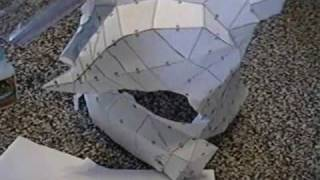 How to build Halo armor Part 2: Pepakura Step 2