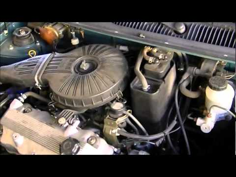 97 Chevy Alternator Wiring Diagram 1997 Geo Metro Sputtering How To Fix Youtube