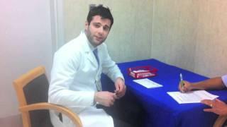 Pharmacist Nicholas Matteliano and Flu shots