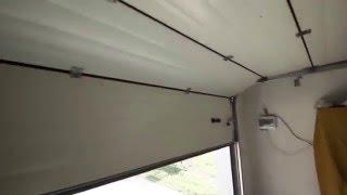 видео гаражные ворота от производителя