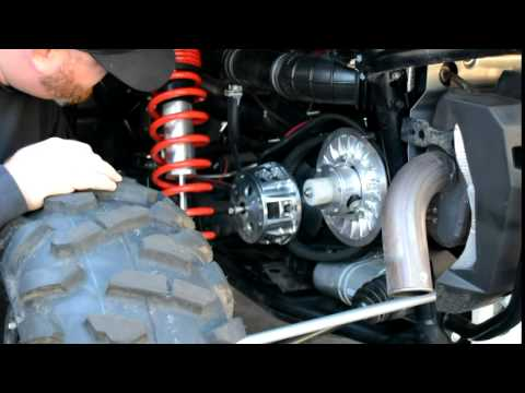 How To Remove and Install Primary Clutch
