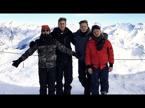 LADS SKIING HOLIDAY!