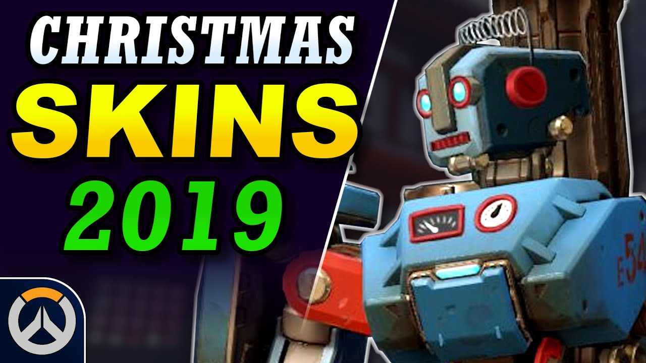 NEW Christmas Skin Ideas!   Overwatch 2019 Winter Wonderland Event