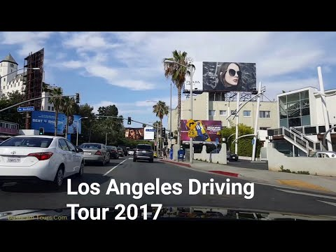 Los Angeles Driving Tour: Carmen in LA