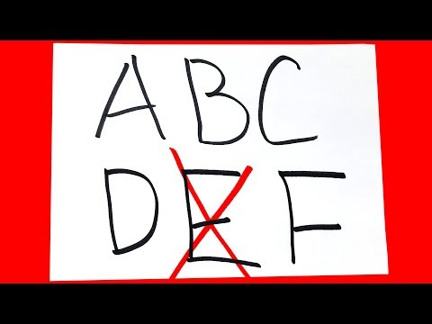 Почему в американской системе оценивания от А до F нет буквы E