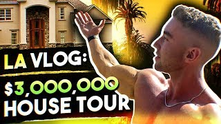 I MADE IT TO LA  | Training at Golds, Haircut and a House Tour | LA VLOG