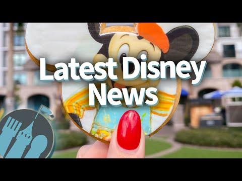 Latest Disney Parks News: NEW Hotels, NEW Restaurants & TONS Of Festival News For 2020!