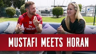 Shkodran Mustafi meets Lindsey Horan | World Cup winners chat