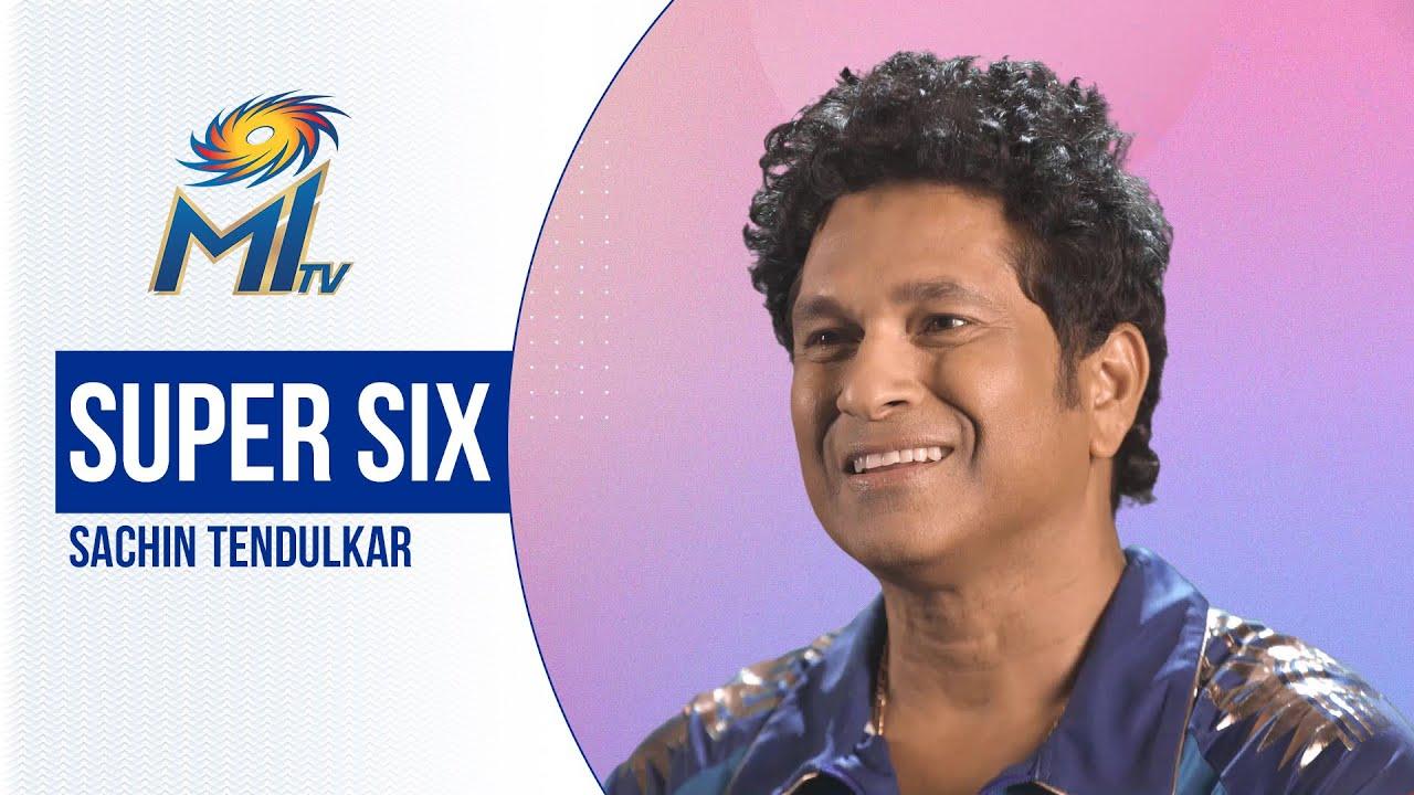 Sachin Tendulkar plays Super Six | सचिन तेंदुलकर से सवाल जवाब | Mumbai Indians