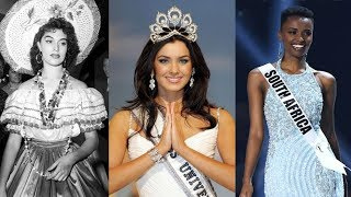 All Miss Universe Winners until 2019