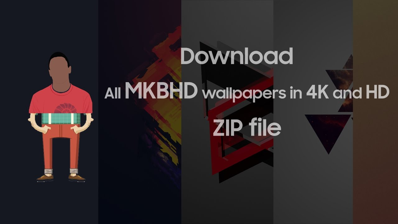 Download all MKBHD wallpapers(ZIP file