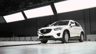 IIHS - 2013 Mazda CX 5 - frontal and side crash test / Good evaluation /