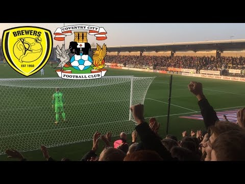 Matchday Experience Burton Albion VS Coventry City 17/11/2018