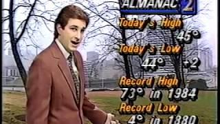 WSB-TV David Chandley's Noon Weekend Weather - Dec 31, 1988