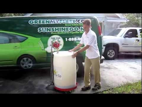 Sunshine Go - Vegetable Oil Fuel Delivery Biofuel Fueling Station