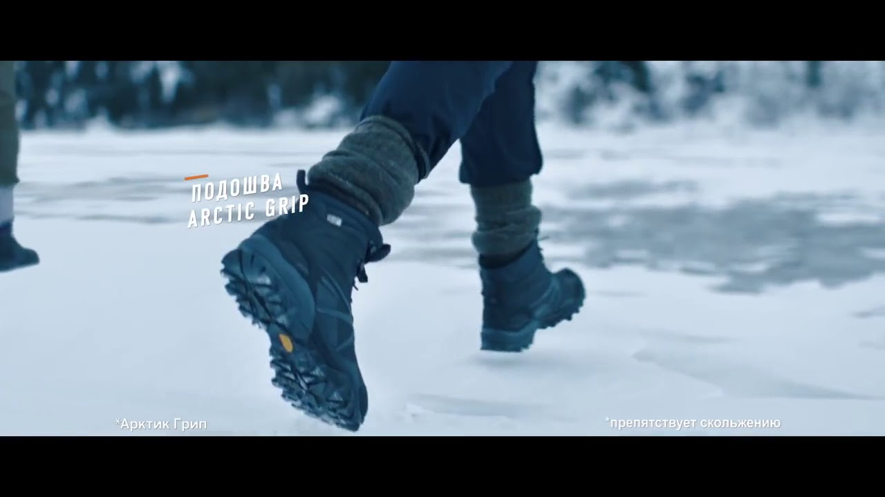 Мысли о Merrell WHITEOUT 6 WATERPROOF женские - YouTube