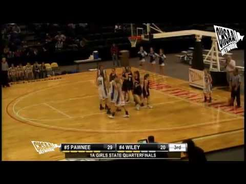 2012 CHSAA Girls Class 1A Quarterfinal - Wiley Vs Pawnee