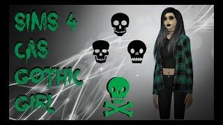 Sims 4 CAS | Goth Girl