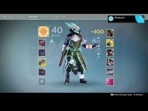 Destiny 1, Nightfall, Warlock Sunsinger, Taniks Perfected (10-15-19)
