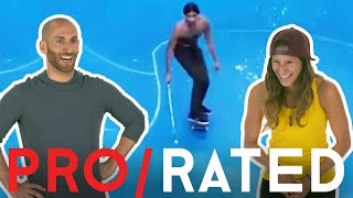 Athletes React: Adaptive Skateboarding, Skimboarding & More (ft. Bonus Footage!) | Pro/Rated