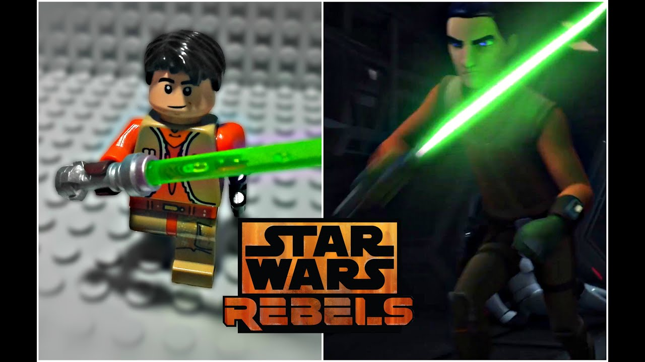 Lego Star Wars Rebels Season 3 Ezra Bridger Minifigure