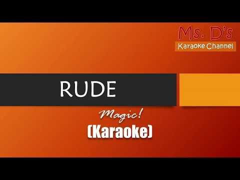 [KARAOKE] Rude - Magic