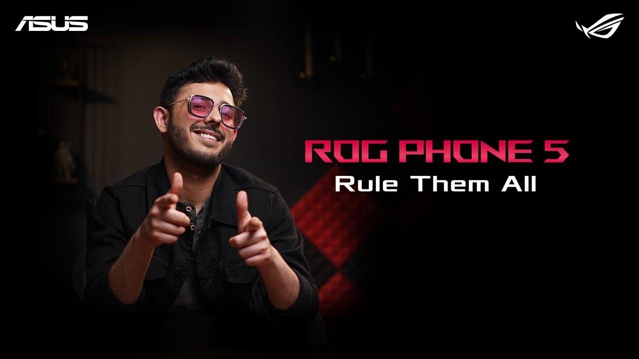 ROG Phone 5   @CarryMinati   Rule Them All