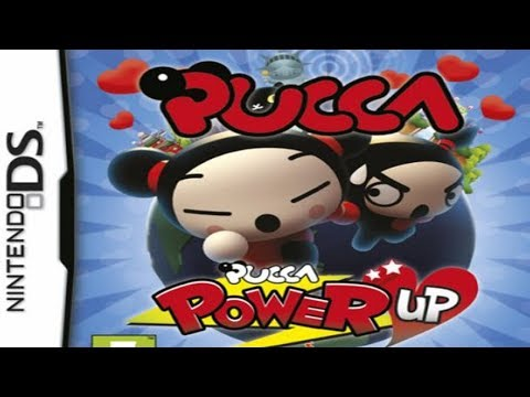 Pucca Power Up Game (Nintendo DS /NDS)