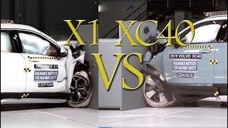 Volvo XC40 Crash Test  2019 BMW X1   CRASH TEST