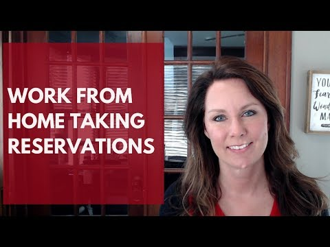 Work From Home Reservations Jobs