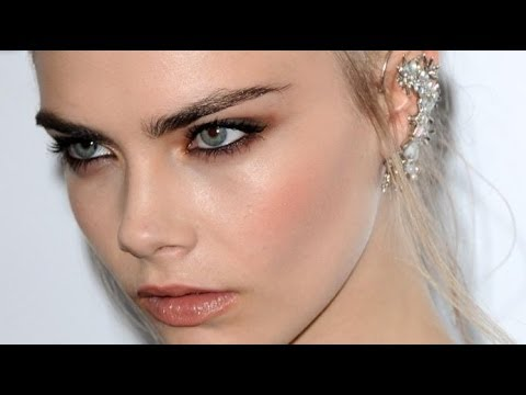 Maquillaje inspirado en Cara Delevigne