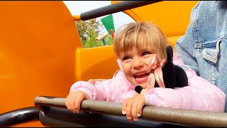Outdoor Playground - Nursery Rhymes funny song for kids by Olivia Vlog   amusement park