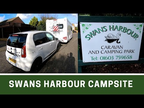 Prepare And Arrive At Swans Harbour Campsite, Norwich | Ep172