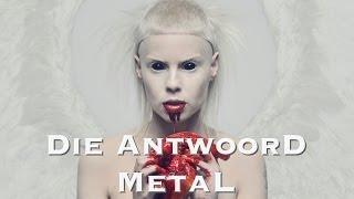 """Die Antwoord """"Fatty Boom Boom"""" Metal (Sergey Golovin version)"""
