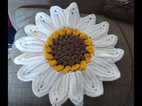 Sonnenblume Untersetzer Häkeln Anleitung Youtube