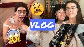 VLOG | Family, Food & GETTING SHOCKED!!