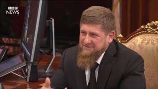 Chechen gay men 'flee for their lives'   BBC News