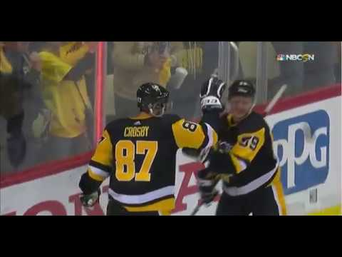 Pittsburgh Penguins Vs Philadelphia flyers Game 1 2018 Stanley Cup Playoffs